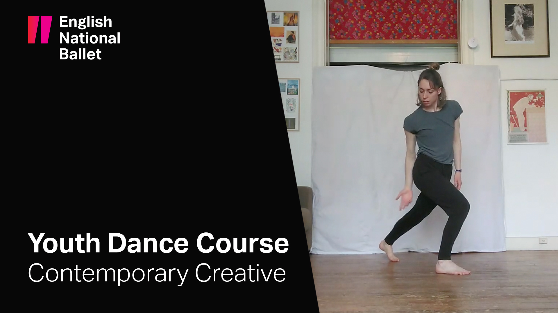 Youth Dance Course: Contemporary Creative with Naomi Cook | English National Ballet