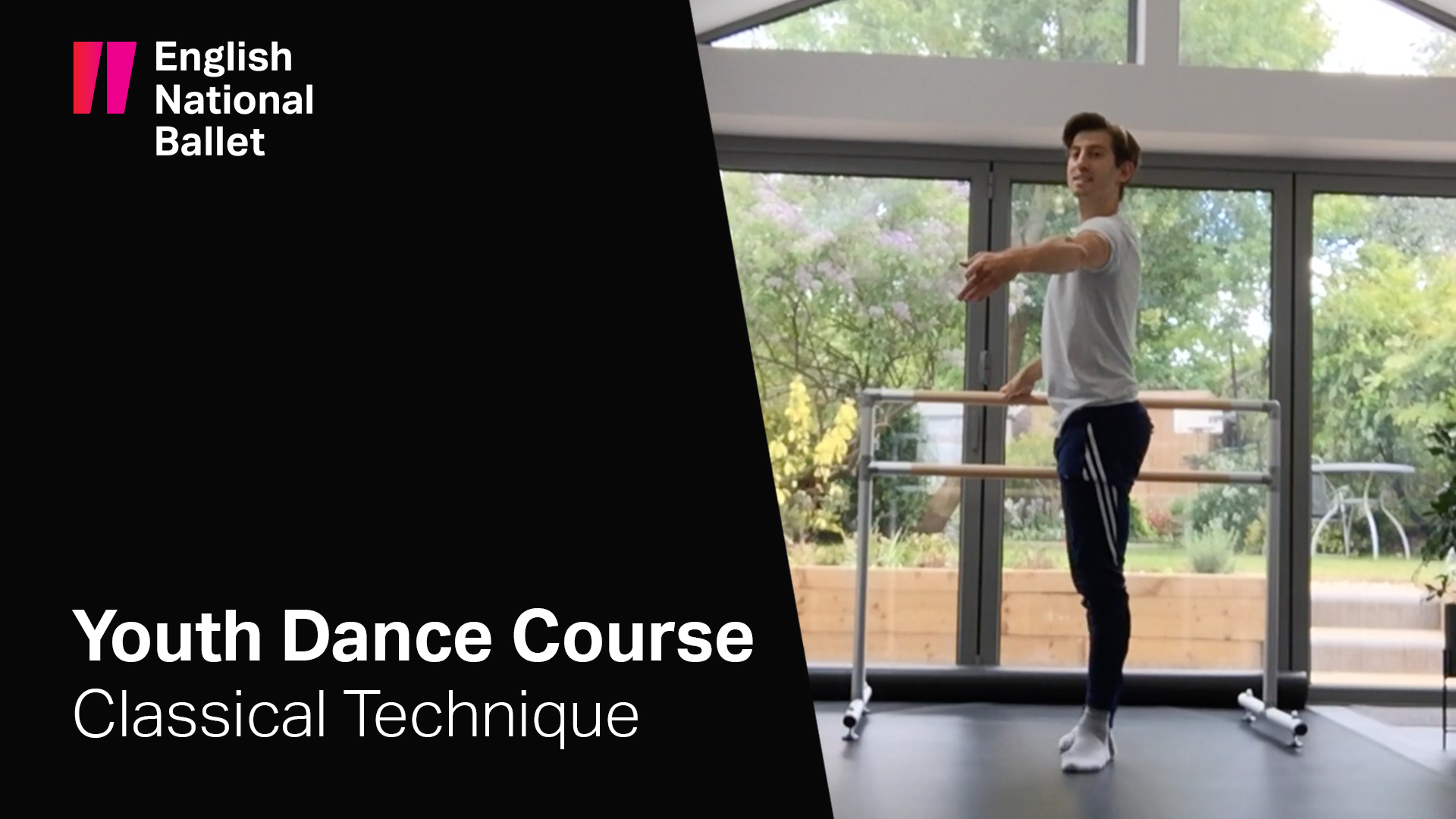 Youth Dance Course: Classical Technique with Richard Bermange | English National Ballet