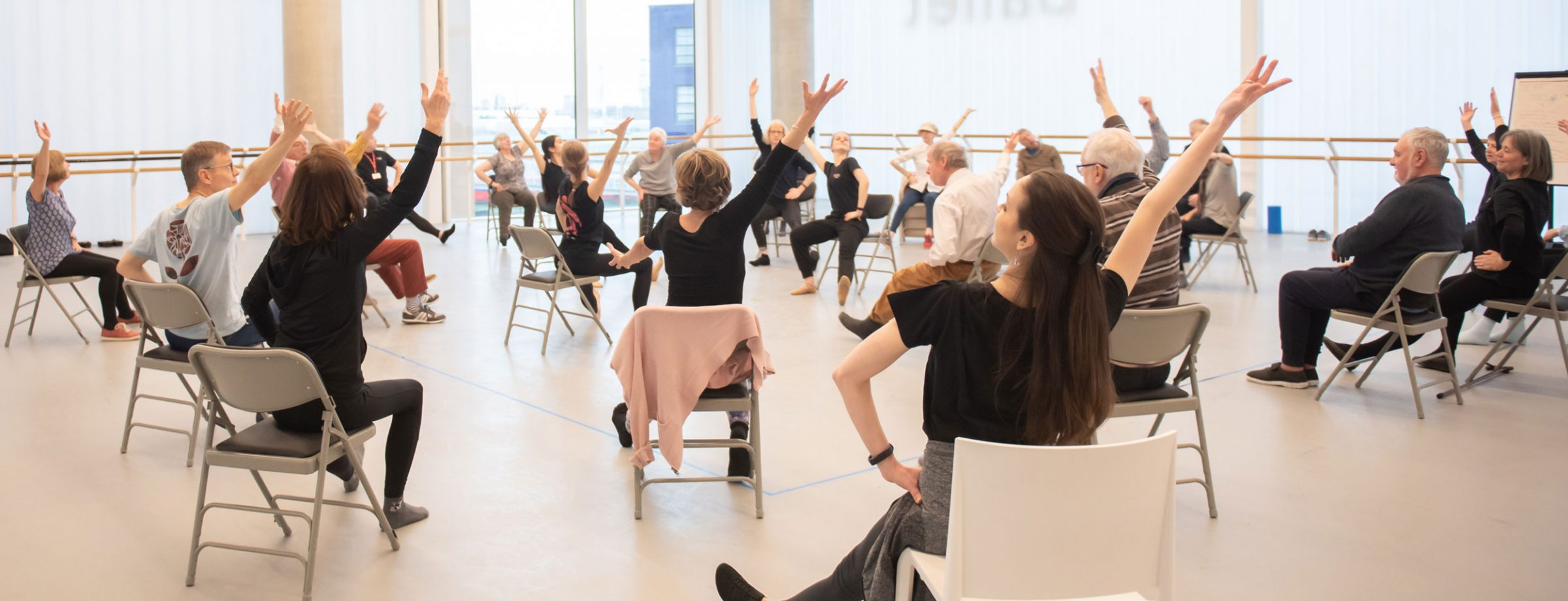 Dance for Parkinson's class at English National Ballet's home © Photography by ASH