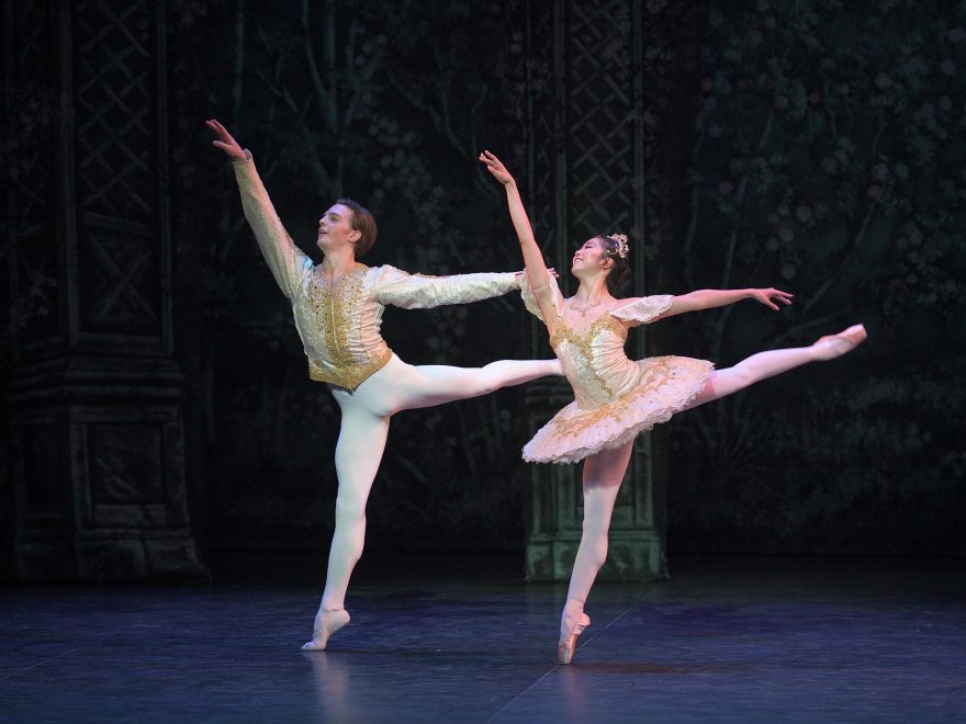 Joseph Caley and Shiori Kase in English National Ballet's Nutcracker