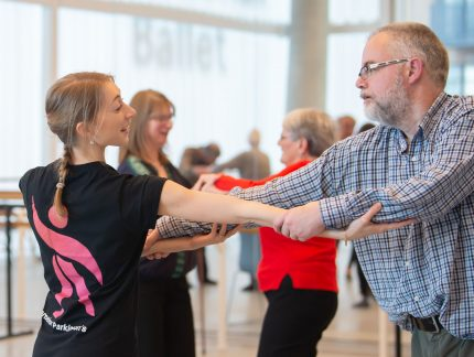The joys of Dance for Parkinson's classes