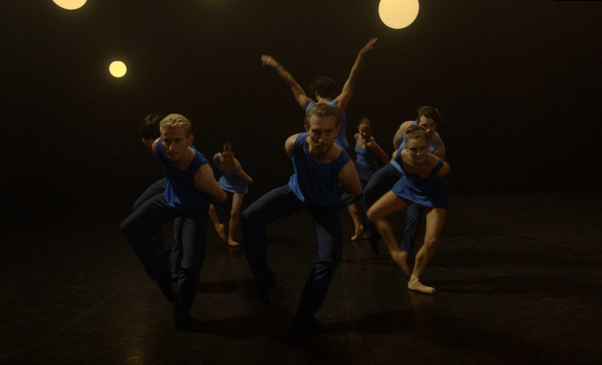 English National Ballet dancers in Stina Quagebeur's Take Five Blues