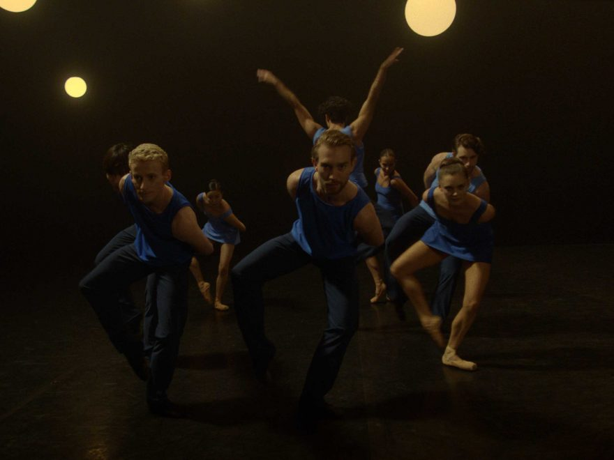 English National Ballet dancers in Stina Quagebeur's Take Five Blues