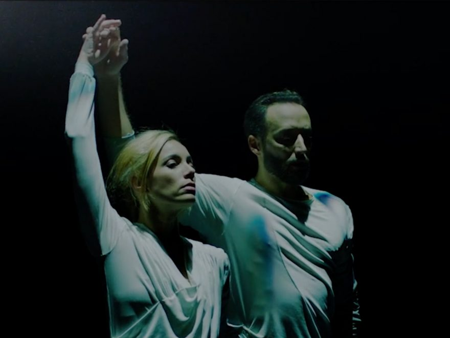Fernanda Oliveira and Fabian Reimair in Russell Maliphant's Echoes