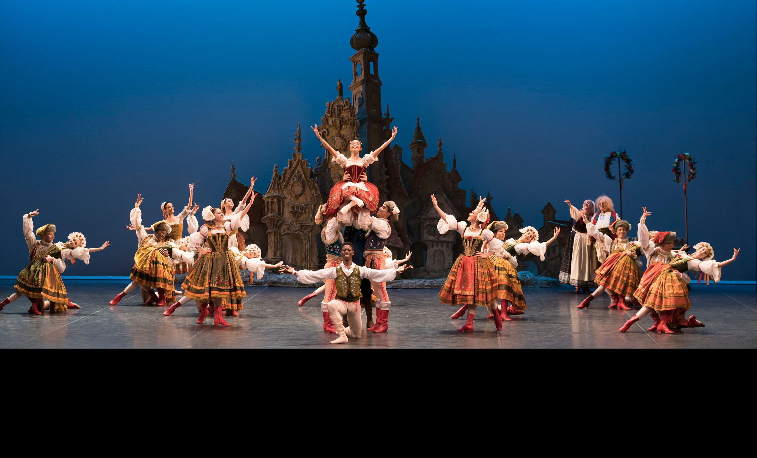 English National Ballet in Coppelia at the Company's 70th Anniversary Gala