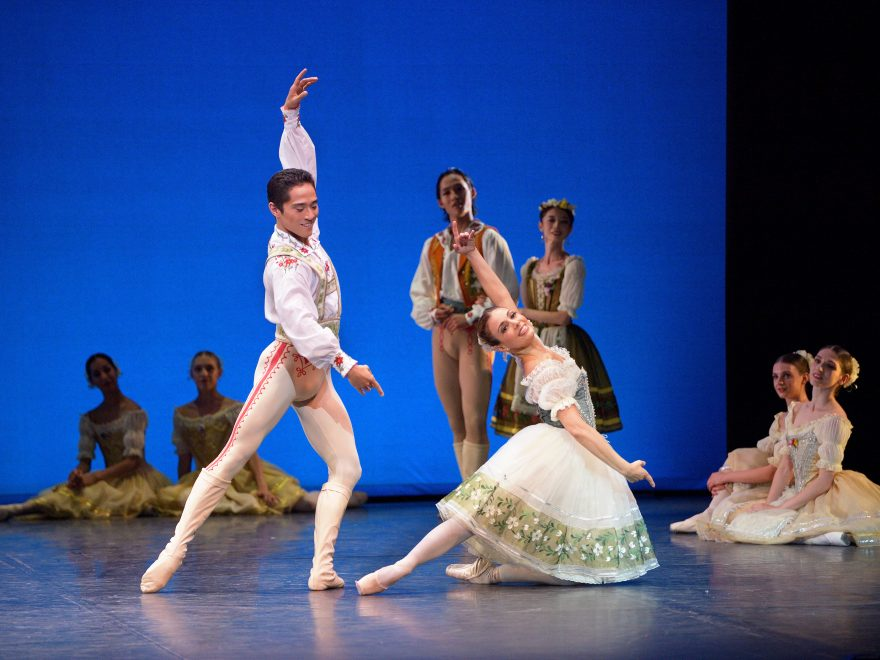 PRESS Fernanda Oliveira and Jeffrey Cirio in Coppélia as part of English National Ballet's Solstice at the Southbank Centre's Royal Festival Hall (2)