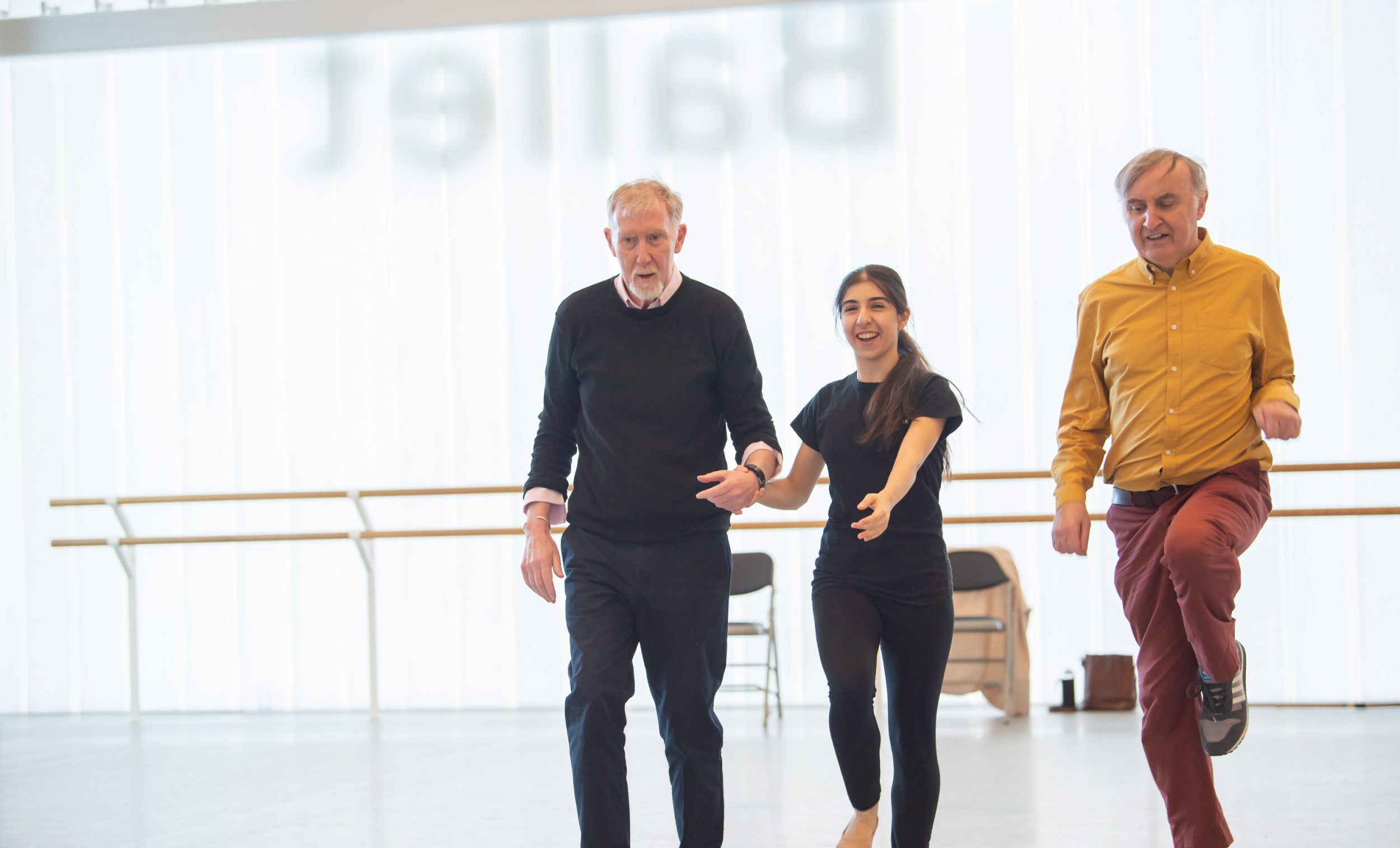 Dance for Parkinson's at English National Ballet's premises (c) Photography by ASH